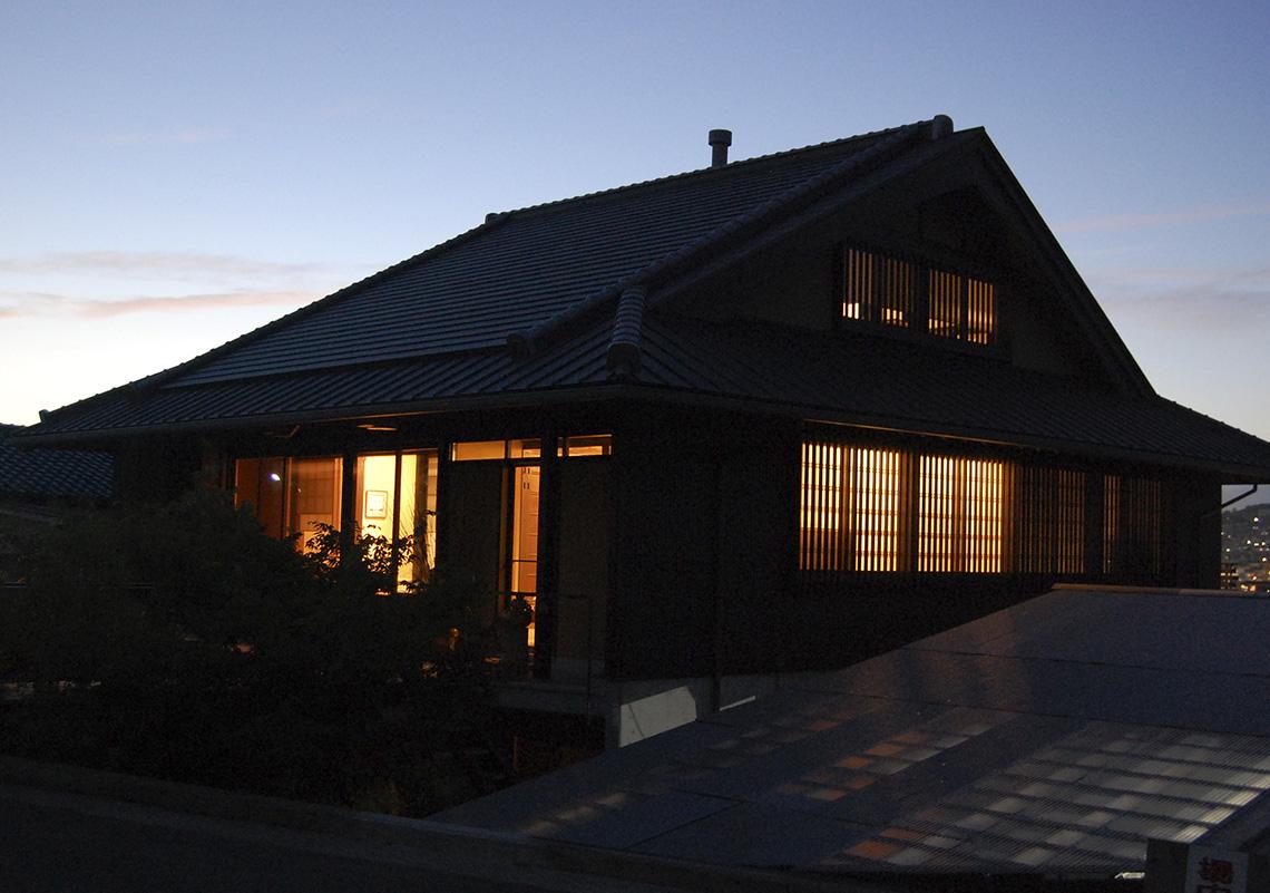 実際に暮らす古民家再生住宅